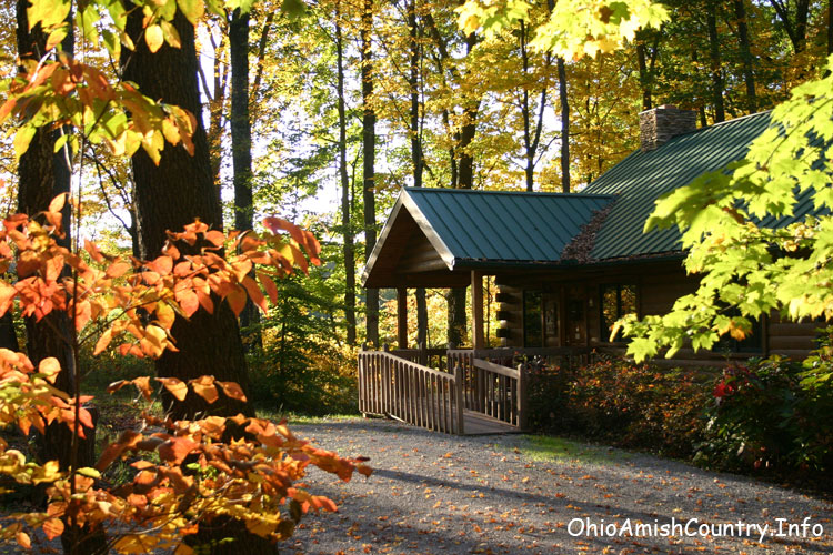 Ohio Amish Country Lodging options include cabins, cottages, inns, hotels, and bed and breakfasts.