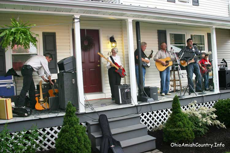 John Schmid and Holmes County Bluegrass